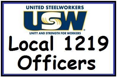 Local 1219 Elected Officers
